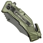 Couteau US Army multifonction LED métal - WG10493