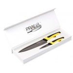 Coffret Pradel Evolution 2 couteaux - titane C8225