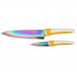 Coffret Pradel Evolution 2 couteaux - titane C82222