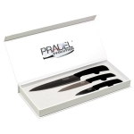 Coffret Pradel Evolution 3 couteaux - titane C8226