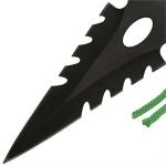 3 couteaux Zombie lancer - Couteau de jet TR37302