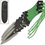 3 couteaux Zombie lancer - Couteau de jet T2575C