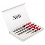 Coffret Pradel Evolution 5 couteaux - titane C8227