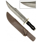 Poignard bowie 45cm damas - Couteau Buffalo