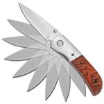 Couteau automatique à cran darret dissimulé - B122