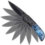 Couteau automatique à cran darret dissimulé - B72