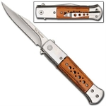Couteau automatique à cran d'arret dissimulé - PK7