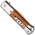 Couteau automatique à cran darret dissimulé - PK72