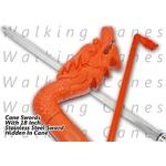 Canne épée 92cm dragon de marche - métal2