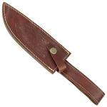 Poignard 28,5cm damas - couteau full tang4