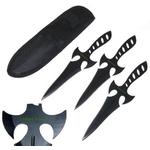 3 Couteaux Zombie Killer de lancer