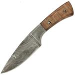 Poignard 23cm mitre lame damas - couteau4