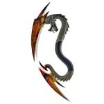 Arme Dragon dague 4 lames - collection3