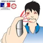 Bombe lacrymogene spray