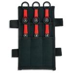 6 Couteaux de lancer kunai - Albainox3