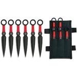6 Couteaux de lancer kunai - Albainox