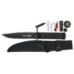 Poignard compact 21,5cm + kit survie - couteau
