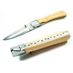 Couteau pliant 21,5cm - bois acier