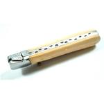 Couteau pliant 21,5cm - bois acier5