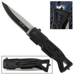 Couteau automatique AK-47 à cran d'arret noir