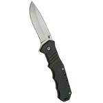 Couteau pliant 19 cm de poche - noir.