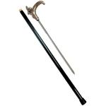 Canne épée 91cm bélier de marche - métal.