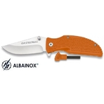 Couteau pliant + allume-feu fire starter - Albainox4