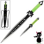 Epée + dague fantastique Démon - Full tang acier inox2