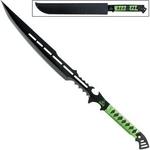 Epée fantastique 71cm Zombie Apocalypse - Full tang.