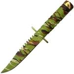 Poignard couteau militaire 21,5cm - compact.