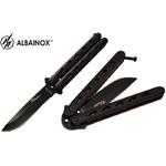 Balisong couteau papillon 21,5cm - ANUBIS Albainox