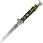 Grand couteau Italien 24cm automatique à cran darret - Zombie.
