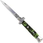 Grand couteau Italien 24cm automatique à cran darret - Zombie....