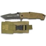 Couteau tactique TITANE 17,8cm coyote - RUI..