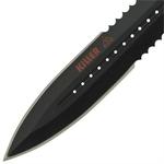 Dague Squelette 24,5cm Zombie - Full tang acier...