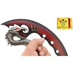 Arme dague décoration 28cm Dragon - couteau IMPERIAL..