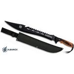 Epée fantastique 63,5cm machette full tang - AVENGERS