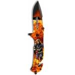Couteau pliant 19cm Pompier Fire Fighter - ALBAINOX.