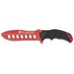 Poignard couteau dentrainement de combat 27,5cm - K25 RUI rouge.