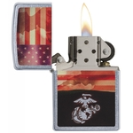 Briquet Zippo officiel - US Marine Corps USA (USMC)..