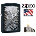 Briquet Zippo officiel, Harley-Davidson moto biker