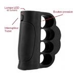 Taser poing américain 2 000 000 volts ! LED tazer puissant.