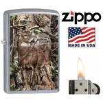Briquet Zippo officiel - Animal chevreuil cerf biche......