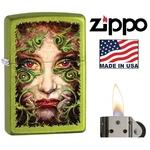 Briquet Zippo officiel - Visage de femme.