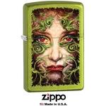 Briquet Zippo officiel - Visage de femme
