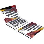 Coffret couteaux PRADEL couteau de cuisine table - Pierre grise.
