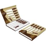 Coffret couteaux PRADEL couteau de cuisine table - Acier blanc knife.
