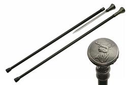 Canne épée 91cm baton de marche - Cerf Chevreuil