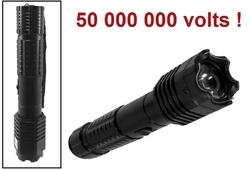 Taser shocker 50 000 000 volts ! POLICE LED + Tazer puissant2