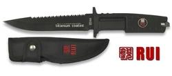 Poignard 28,5cm titane - RUI Tactical